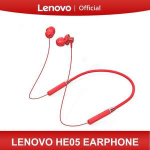 Lenovo HE05 Bluetooth 5.0 Headset met noise cancelling