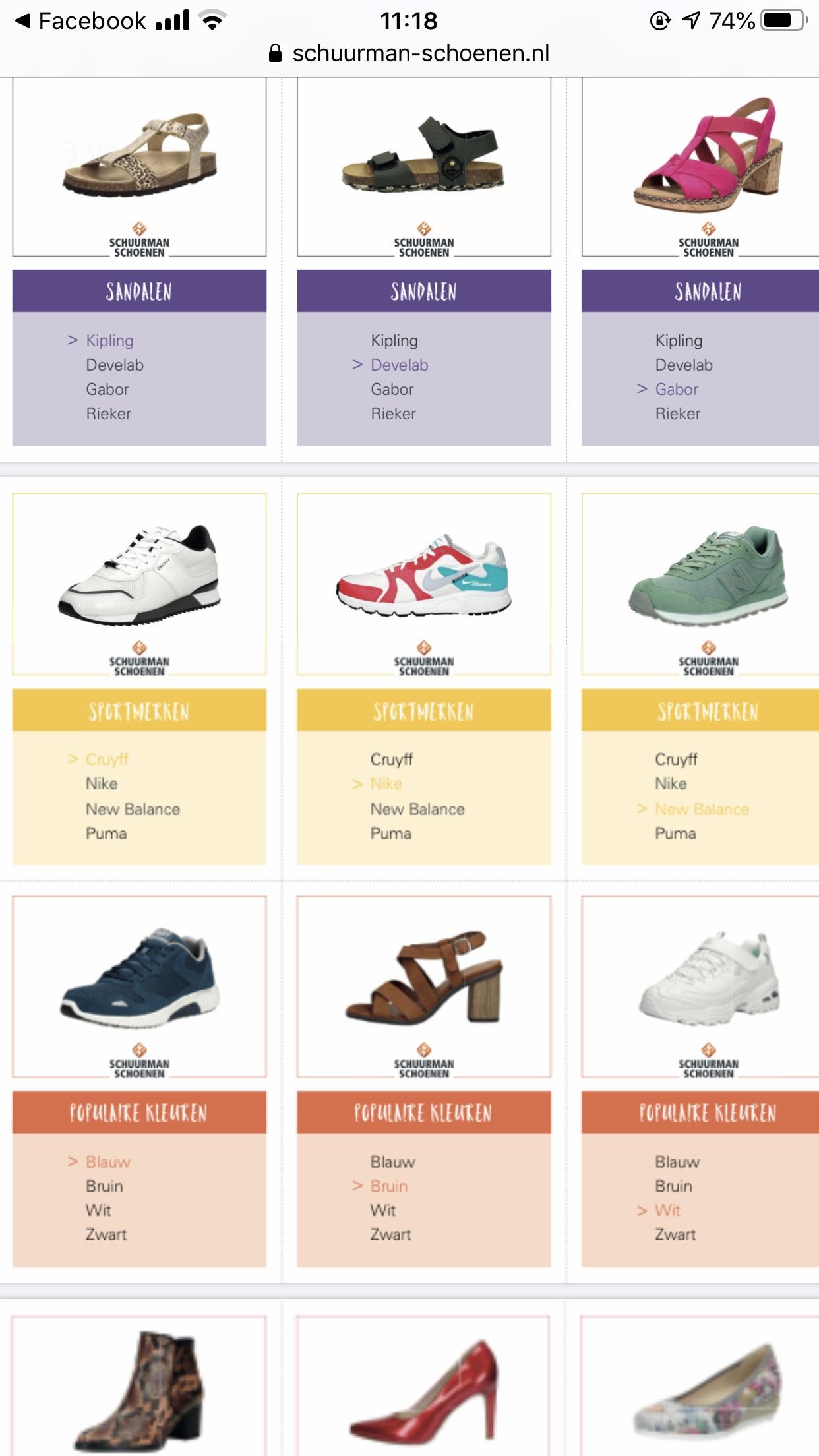 Print je eigen schoenenkwartet