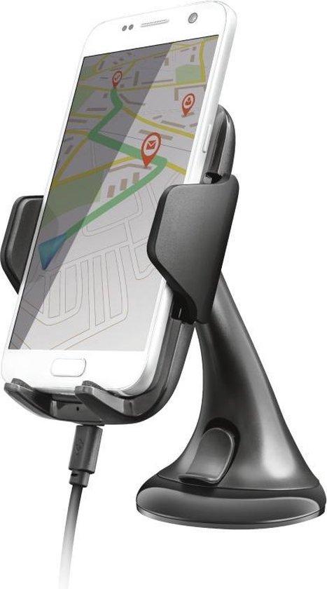 Trust Mobile Yudo10nTelefoonhouder en Oplader QC 3.0 10W @ Bol.com