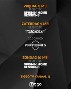 [GRATIS] 4 DJ shows dit weekend @ Ziggo