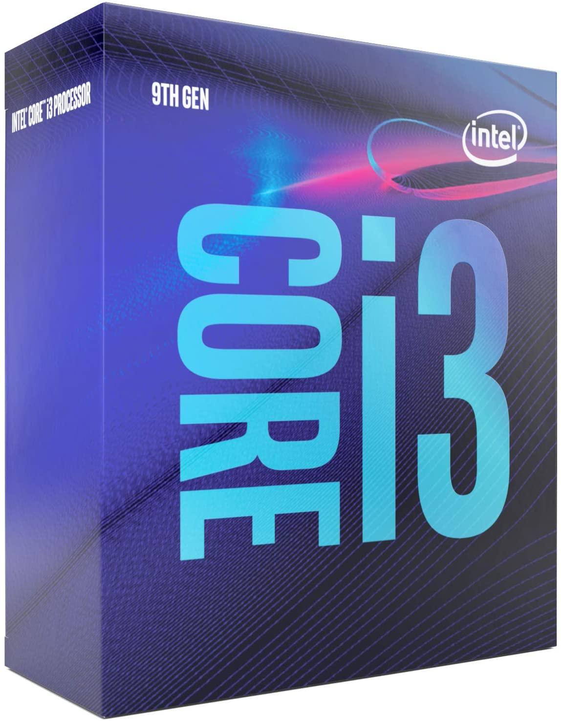 Intel Core CPU i3-9100 Quad-core 3,6-4,2Ghz (9th Gen) @ Amazon.de