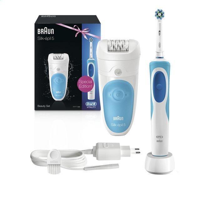 Braun Silk-Épil 5 epilator + Oral-B Vitality elektrische tandenborstel @ Kruidvat
