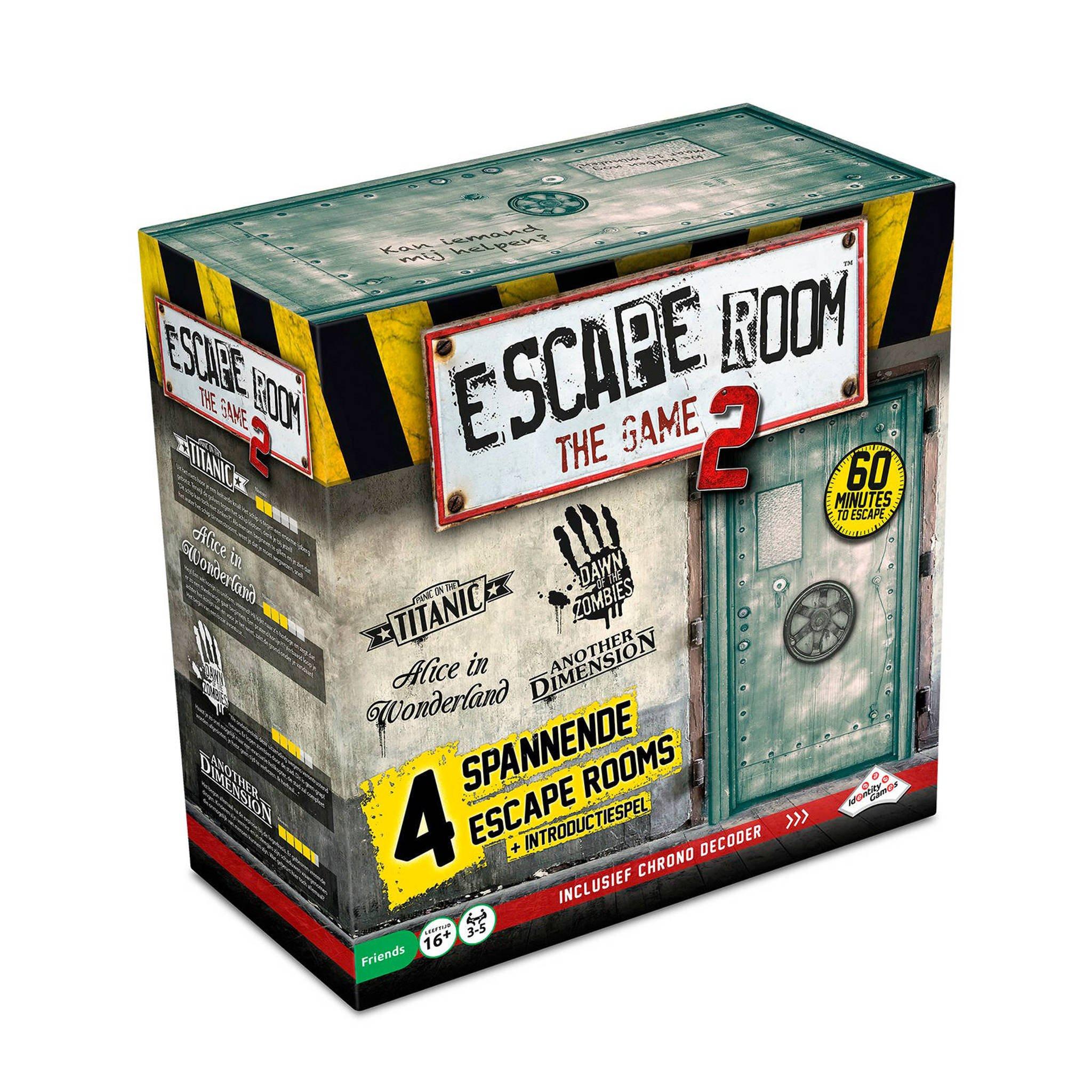 Escape Room The Game 2 voor €25,95 @ Wehkamp