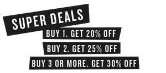 Actie: 25-30% (EXTRA) korting - sale tot -70% @ America Today