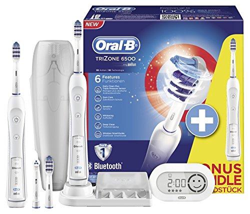 Oral-B TriZone 6500 (met 2 opzetborstels) tijdelijk voor €109,99 @ Amazon.de (Cyber Monday Countdown)