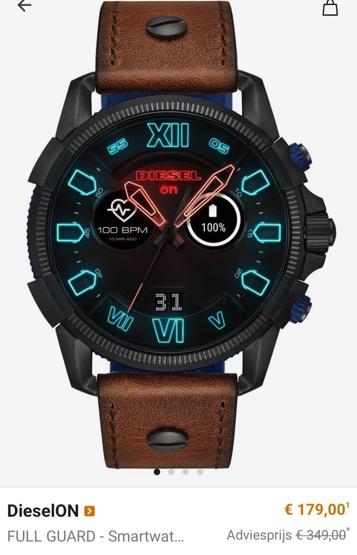 Grote korting op diesel horloges en accessoires + gratis verzending