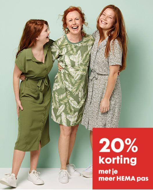 Dames jurken -20% - ook sale @ HEMA