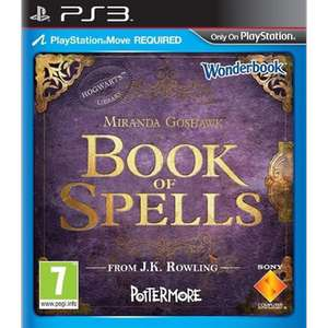 Wonderbook: Book of Spells + AR-Book (PS3) voor €2 (incl.) @ Dixons