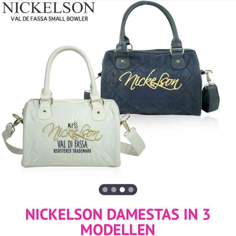 Tot 12:00 een Nickelson dames tas voor €29 @ 1DayFly
