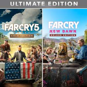 Far Cry 5 Gold Edtion + Far Cry New Dawn Deluxe Edition + Far Cry 3 Classic Edition @ PSN