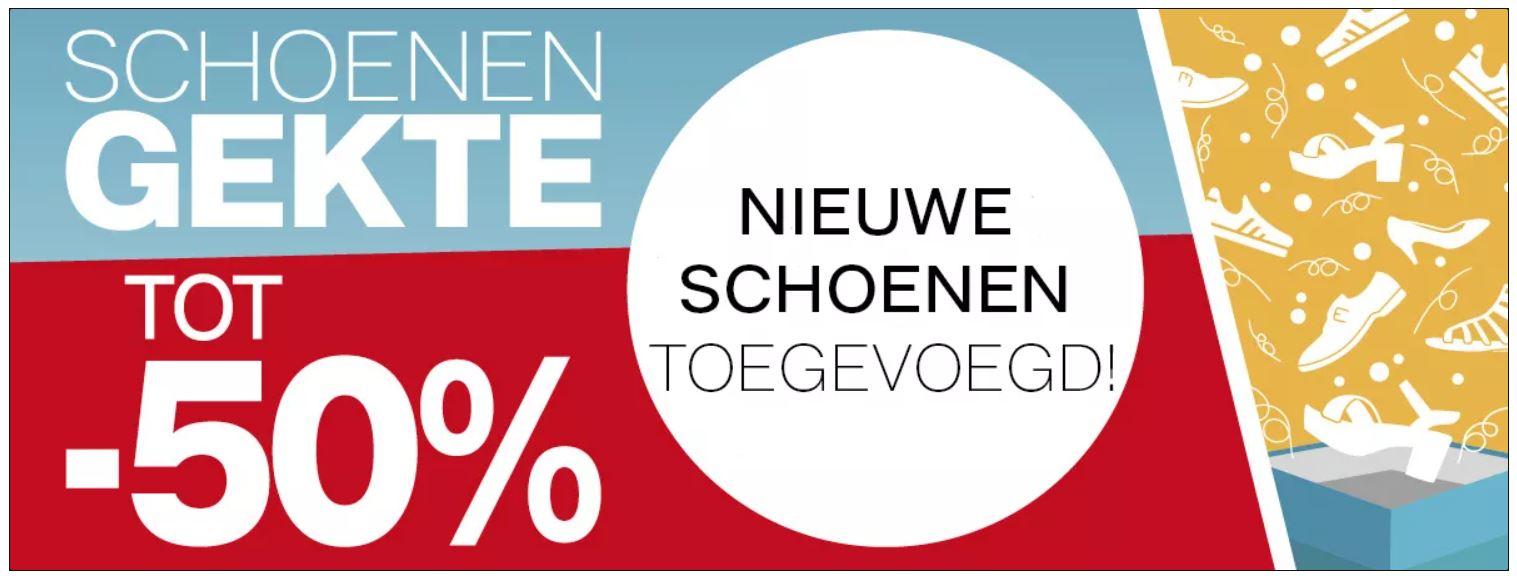 Actie: diverse schoenen (tot) -50% [ook merk] @ Van Haren