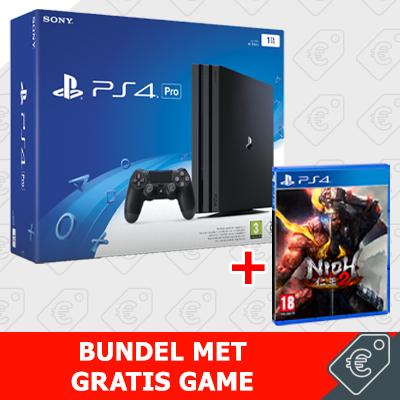 Gratis Nioh 2 bij aanschaf van een Playstation 4 Slim (€299) of Pro (€399)