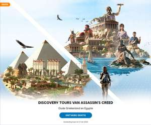Discovery Tour by Assassin's Creed: Ancient Egypt en Greece gratis te claimen