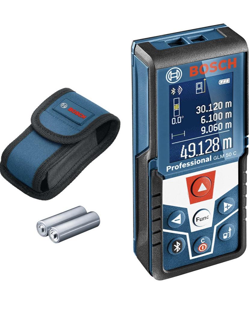 Bosch GLM 50 C Digitale laserafstandsmeter + blluetooth