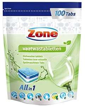 Zone Vaatwastablet Classic, 100 Stuk @ amazon.nl