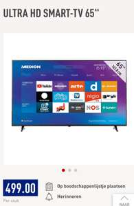 "65"" Ultra HD TV @ Aldi"