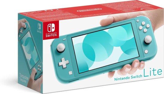 Nintendo Switch Lite Console Turqoise, geel en grijs