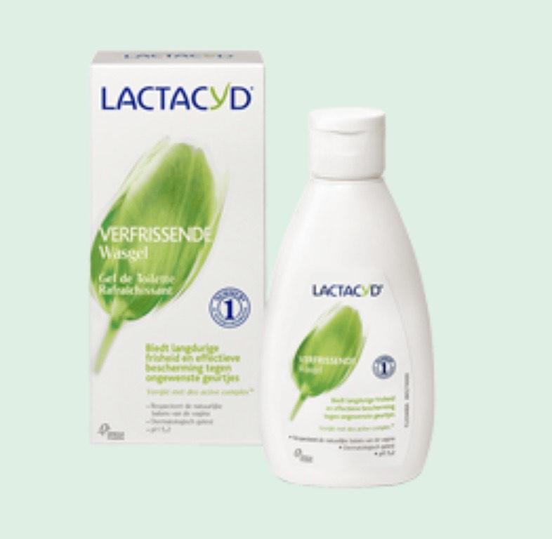 Gratis sample Lactacyd verfrissende Wasgel of Wasemulsie