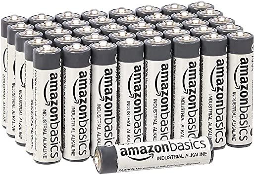 AmazonBasics AAA alkaline batterijen (40 stuks) @ Amazon.nl
