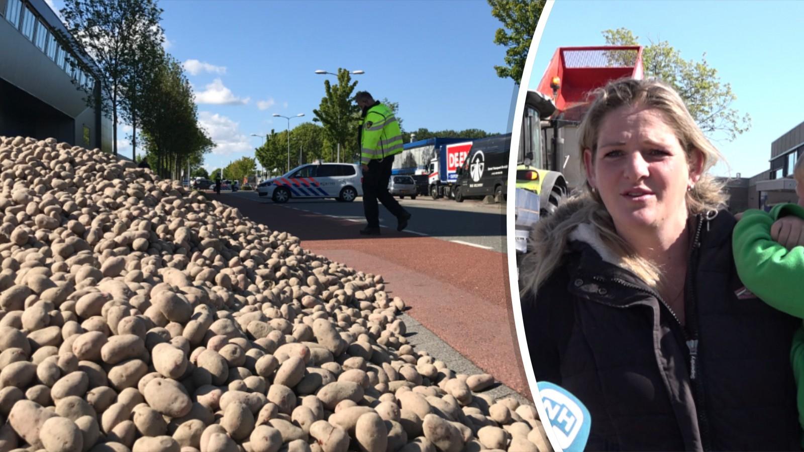 [LOKAAL] 6000 kilo aardappelen gratis af te halen in Hoorn.