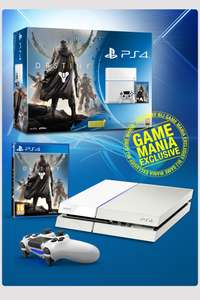 Witte Playstation 4 plus Destiny voor €399 @ Game Mania
