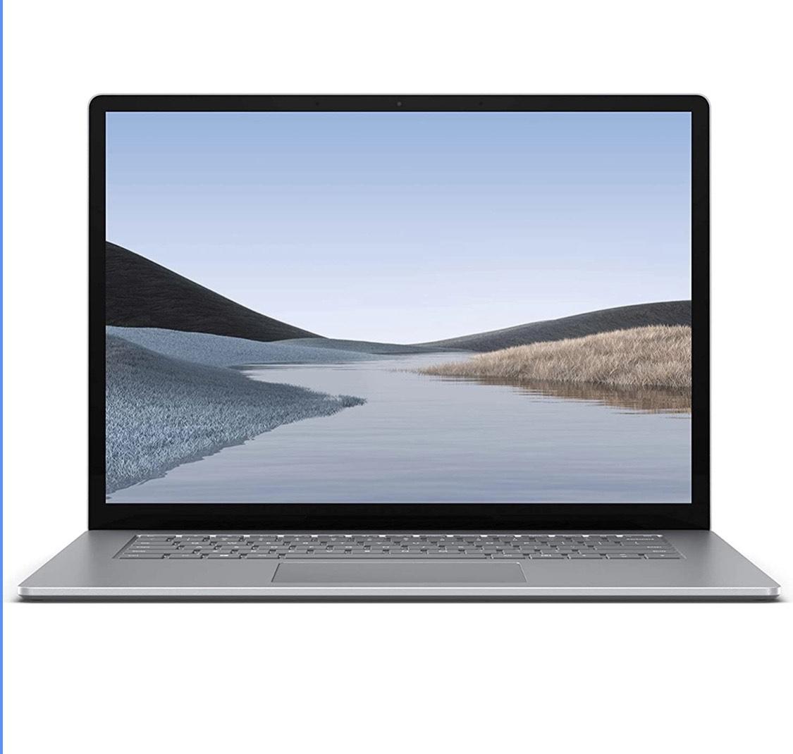 "Surface Laptop 3 - QWERTY 15"", Platina (metaal), AMD Ryzen 5 3580U, 8 GB, 256GB"