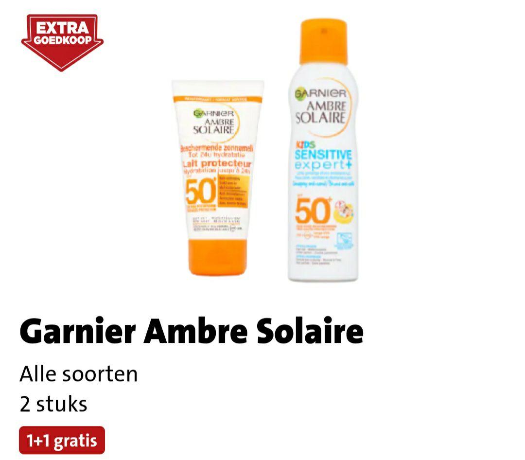 Garnier Ambre Solaire 1 + 1 gratis