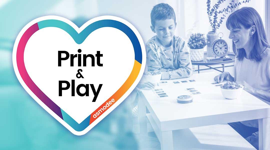 Nieuwe gratis Print & Play (demo) spellen van Asmodee