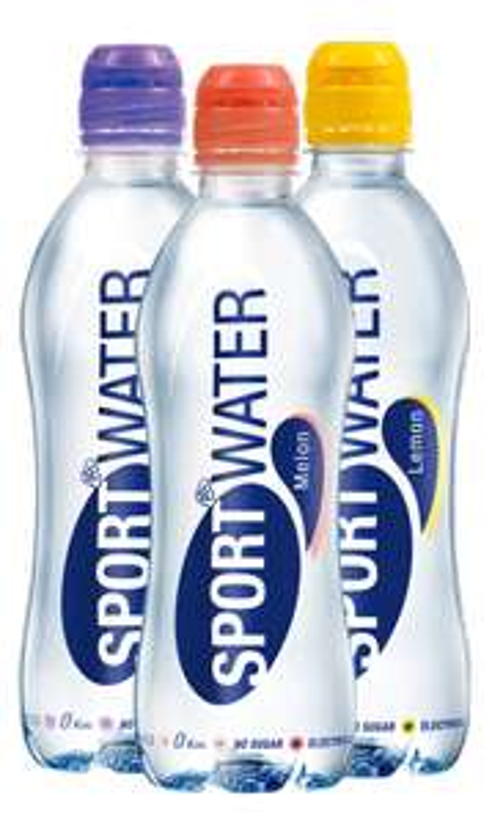 Gratis 3 flesjes sportwater thuisbezorgd!