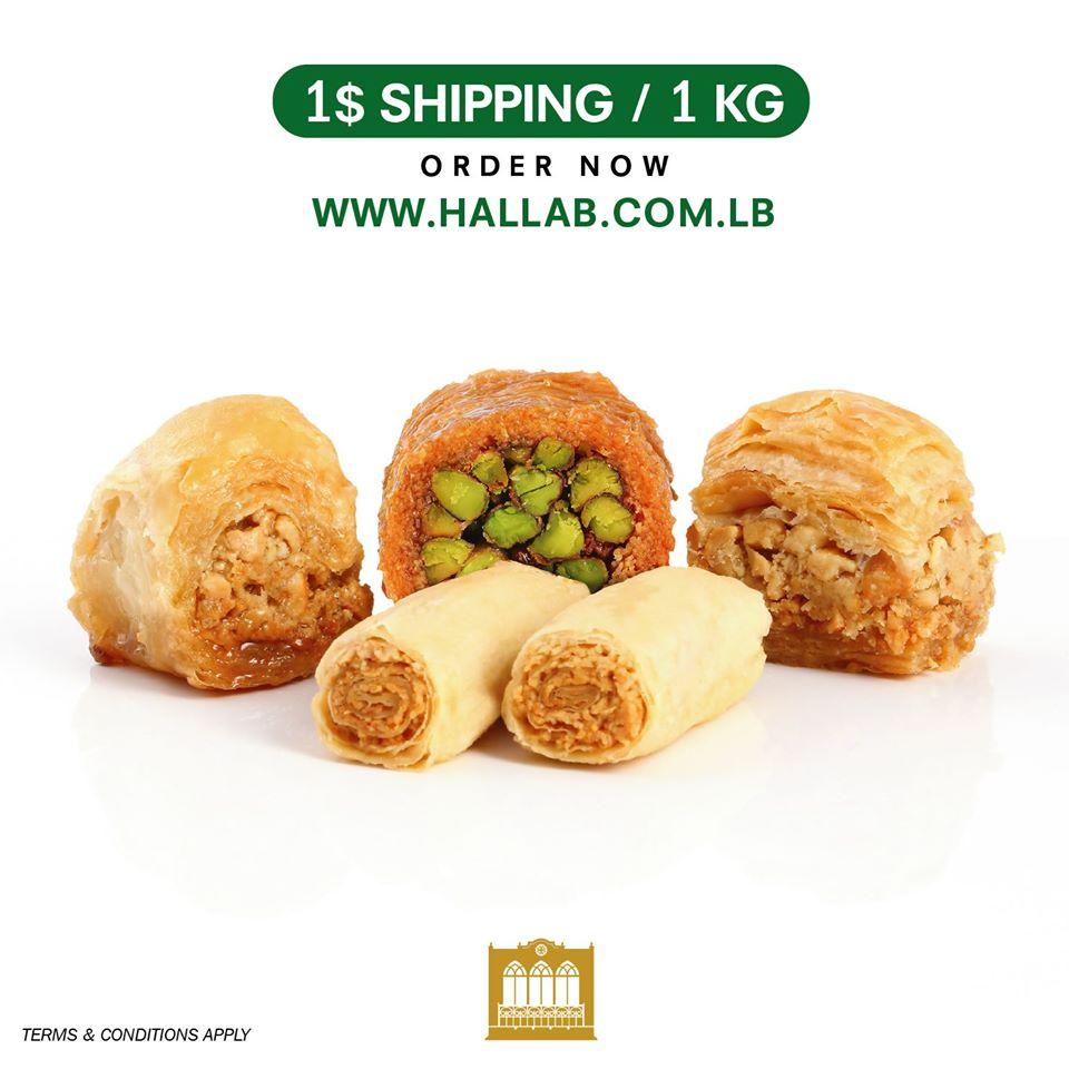 4kg Libanese Baklava met gratis verzendenkosten