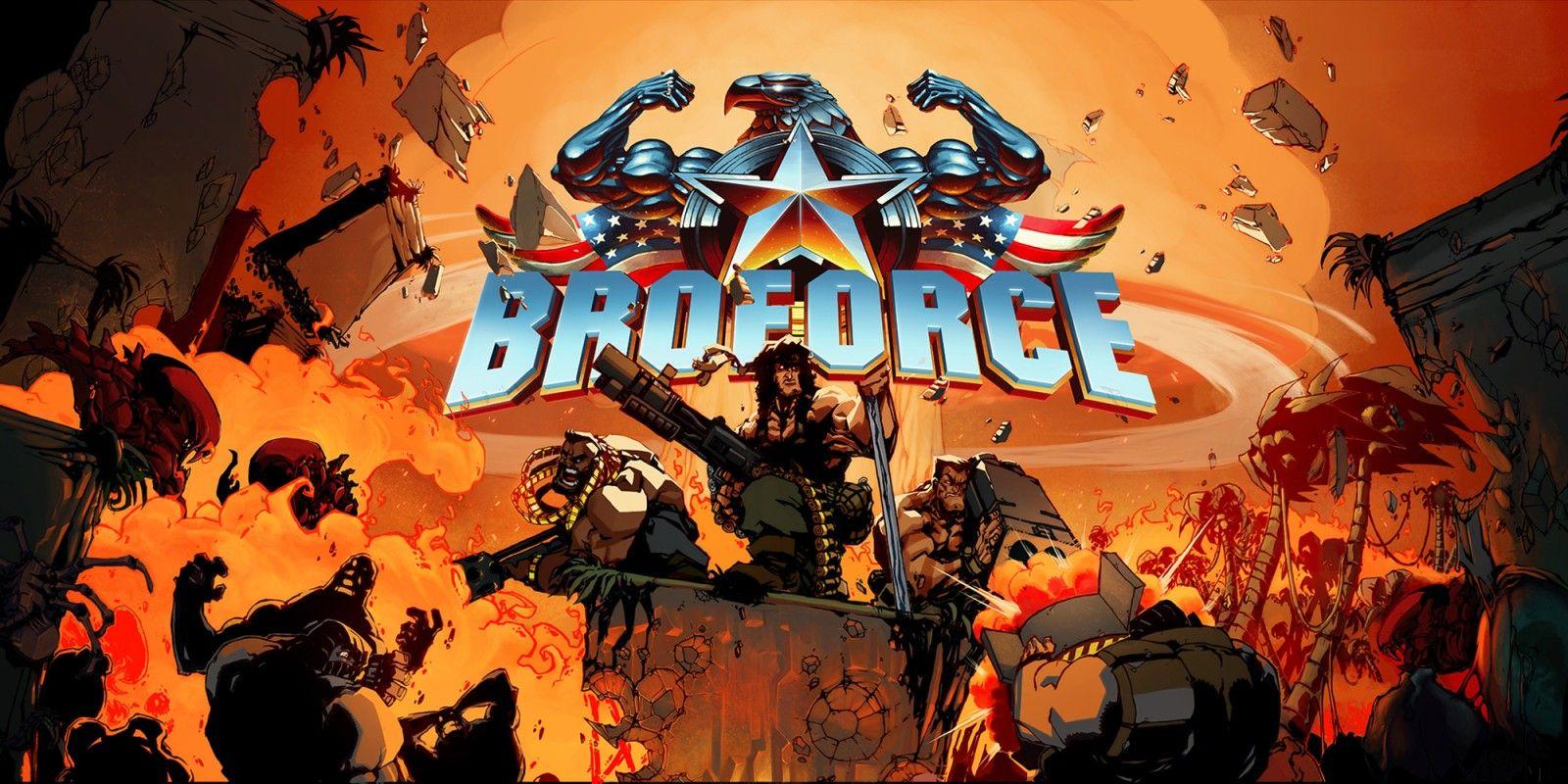 Broforce (Nintendo Switch) voor € 3.74 (eShop)