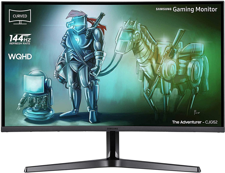 "Samsung C32JG52QQU computer monitor 80 cm (31.5"") 2560 x 1440 Pixels Wide Quad HD Gebogen Zwart"