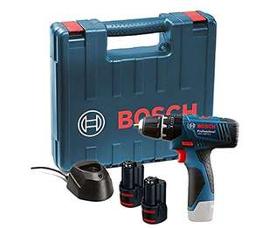 Bosch GSB 120 - LI Professional 12V with 2 x 1.5 Ah batterijen met oplader en koffer