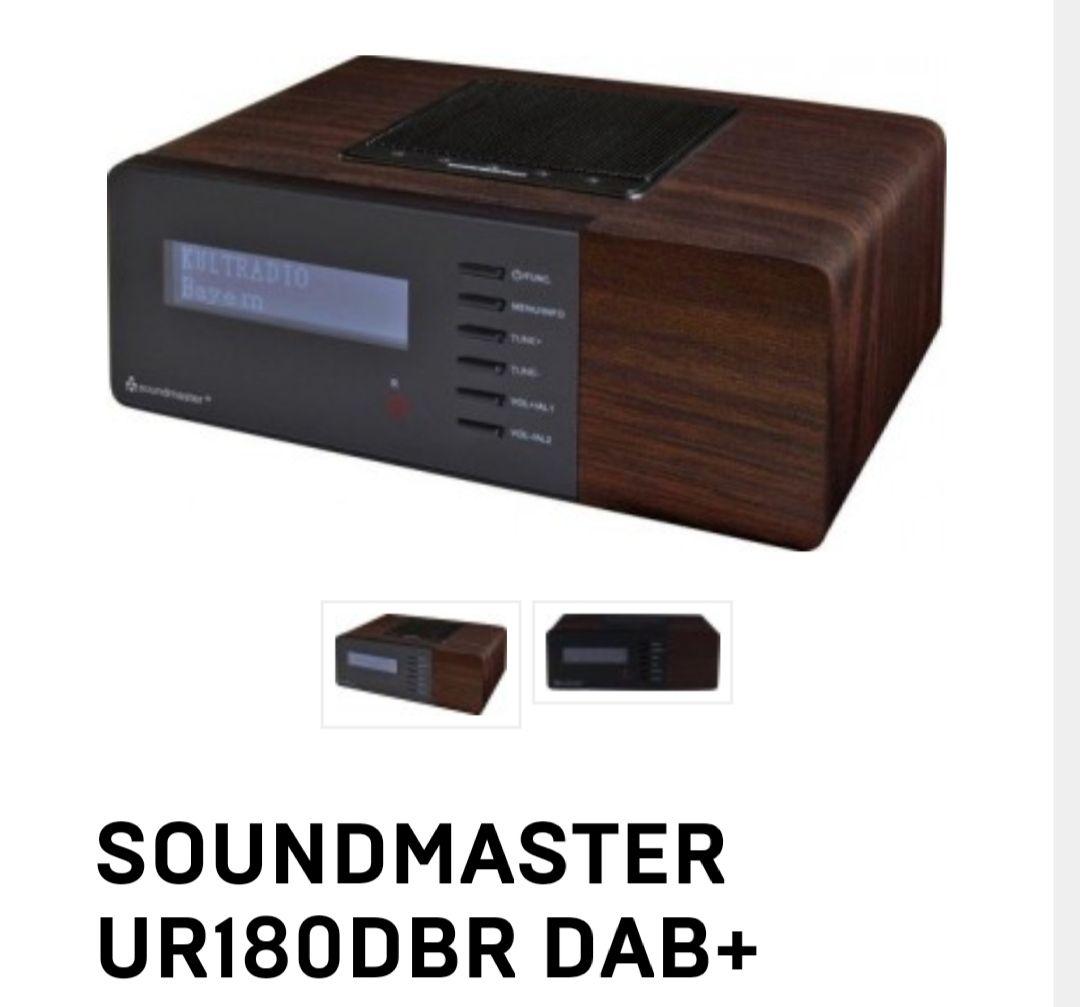 Soundmaster UR180DBR DAB+ wekker radio