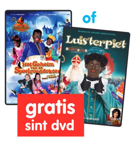 Bon voor Gratis Sint DVD (afhalen) @ Free Record Shop/Boekenvoordeel