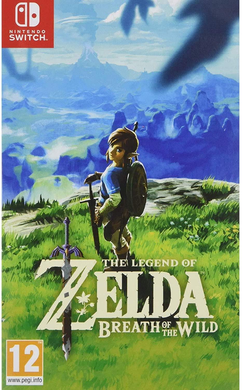 The Legend of Zelda: Breath of the Wild Switch game voor €49,66 @ Amazon NL
