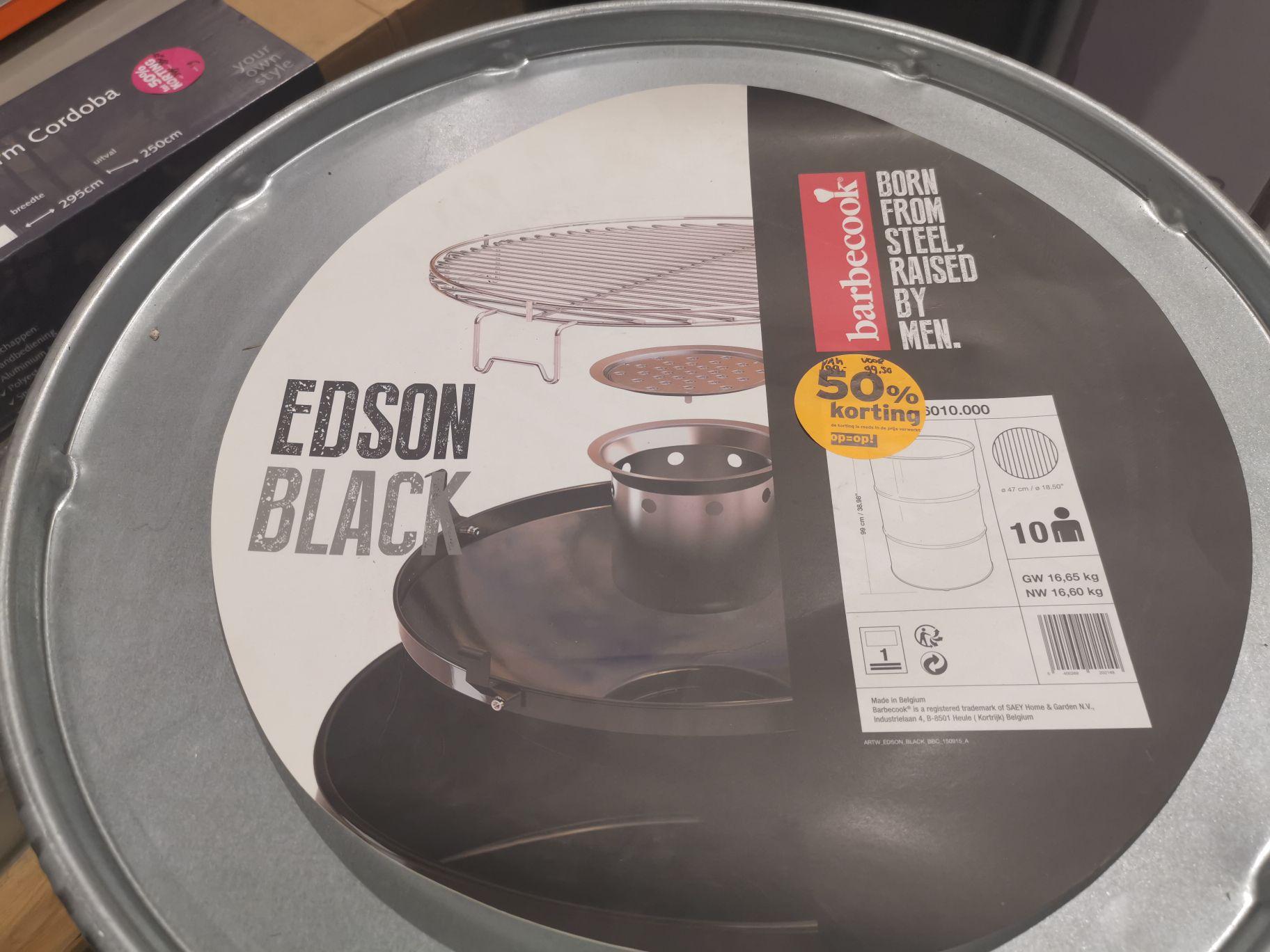 Barbecook Edson zwart @ Gamma Veenendaal