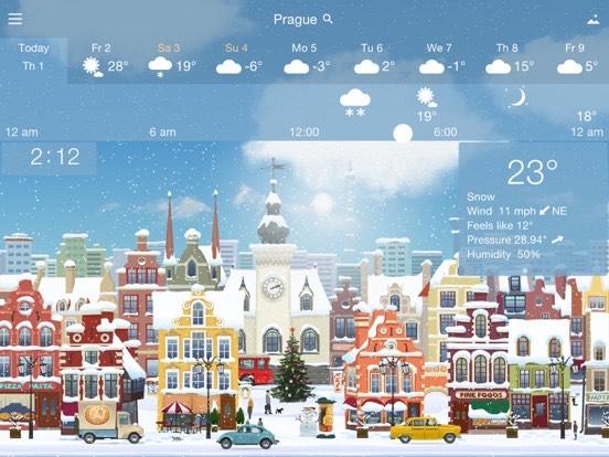 [iOS] tijdelijk gratis YoWindow Weather (app heeft geen in app aankopen)