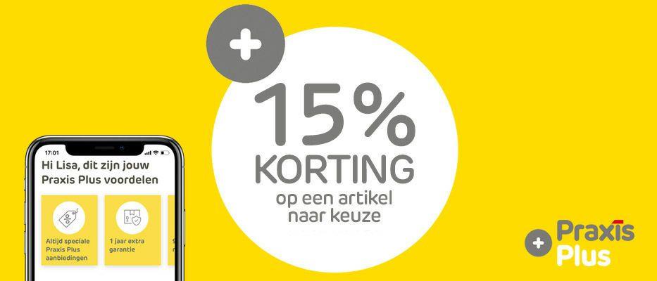15% korting op Philips Hue bij Praxis