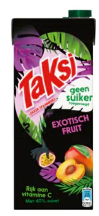 (LOKAAL?) Taksi exotisch fruit 2 pakken à 1.5 liter voor maar €1 @ Nettorama