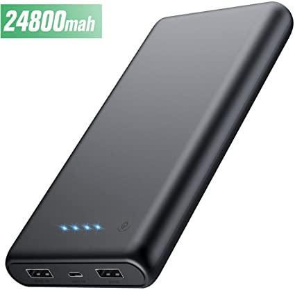 [flash deal] HETP Powerbank, 24800 mAh externe batterij @ Amazon.de