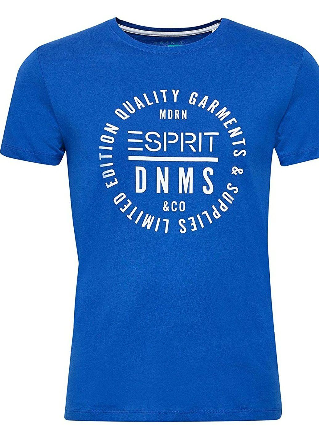 ESPRIT Heren T-shirt licht blauw @ Amazon.nl