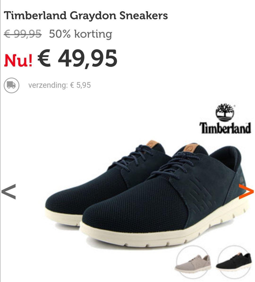 Timberland Graydon sneakers, bij iBood