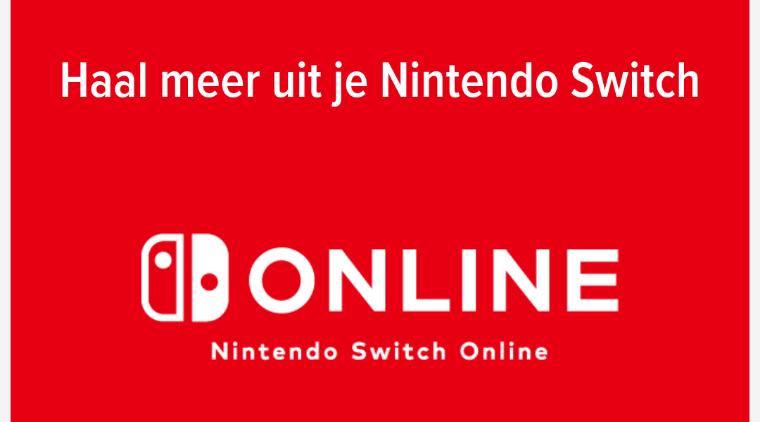 Korting op Nintendo switch online door samen een familie te worden