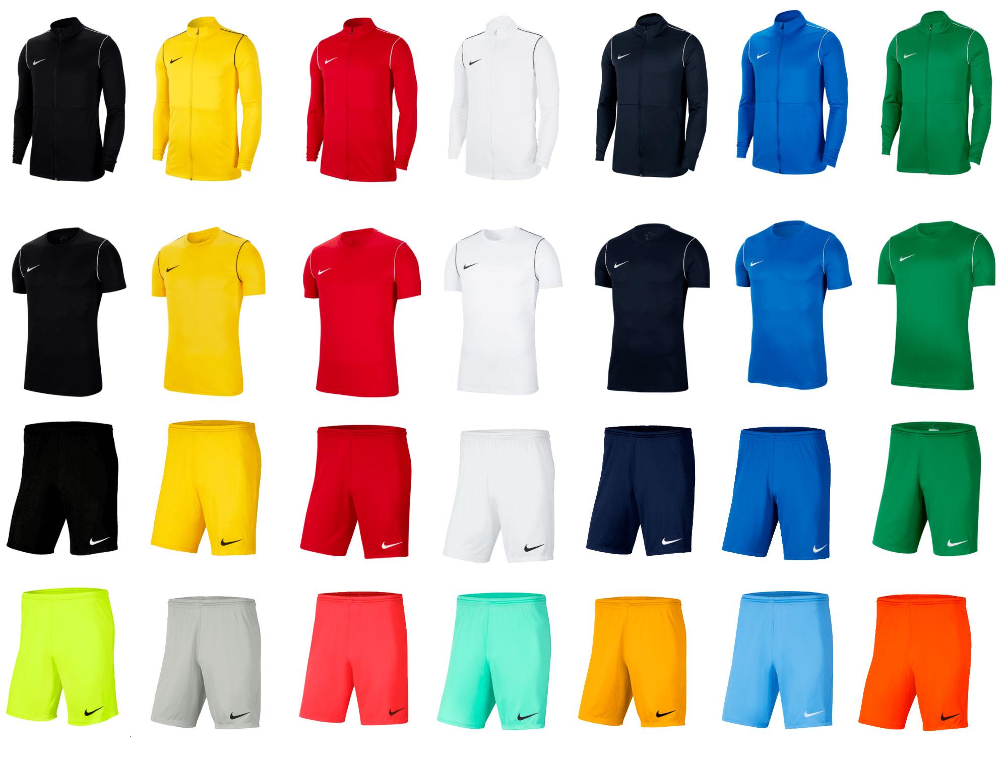Nike Park 3-delige trainingsset - vele kleuren + maten @ Geomix