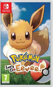 Pokémon Let's go Eevee! Nintendo switch