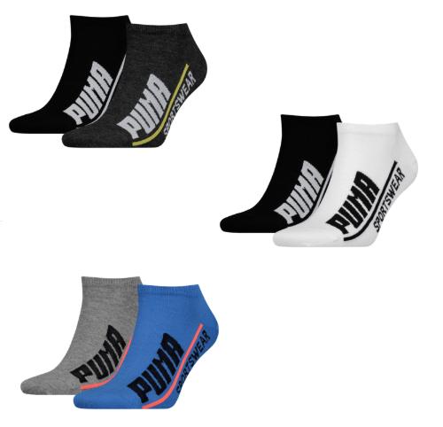 24 paar Puma sneaker sokken - keuze uit 3 stijlen voor €36,95 inc verz. @ geomix