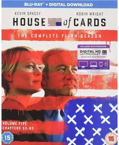 House Of Cards: The Complete Fifth Season Blu-ray
