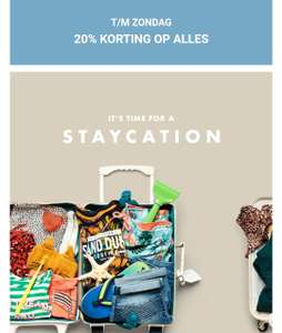 20% extra korting op alles (incl. sale) @ WE Fashion