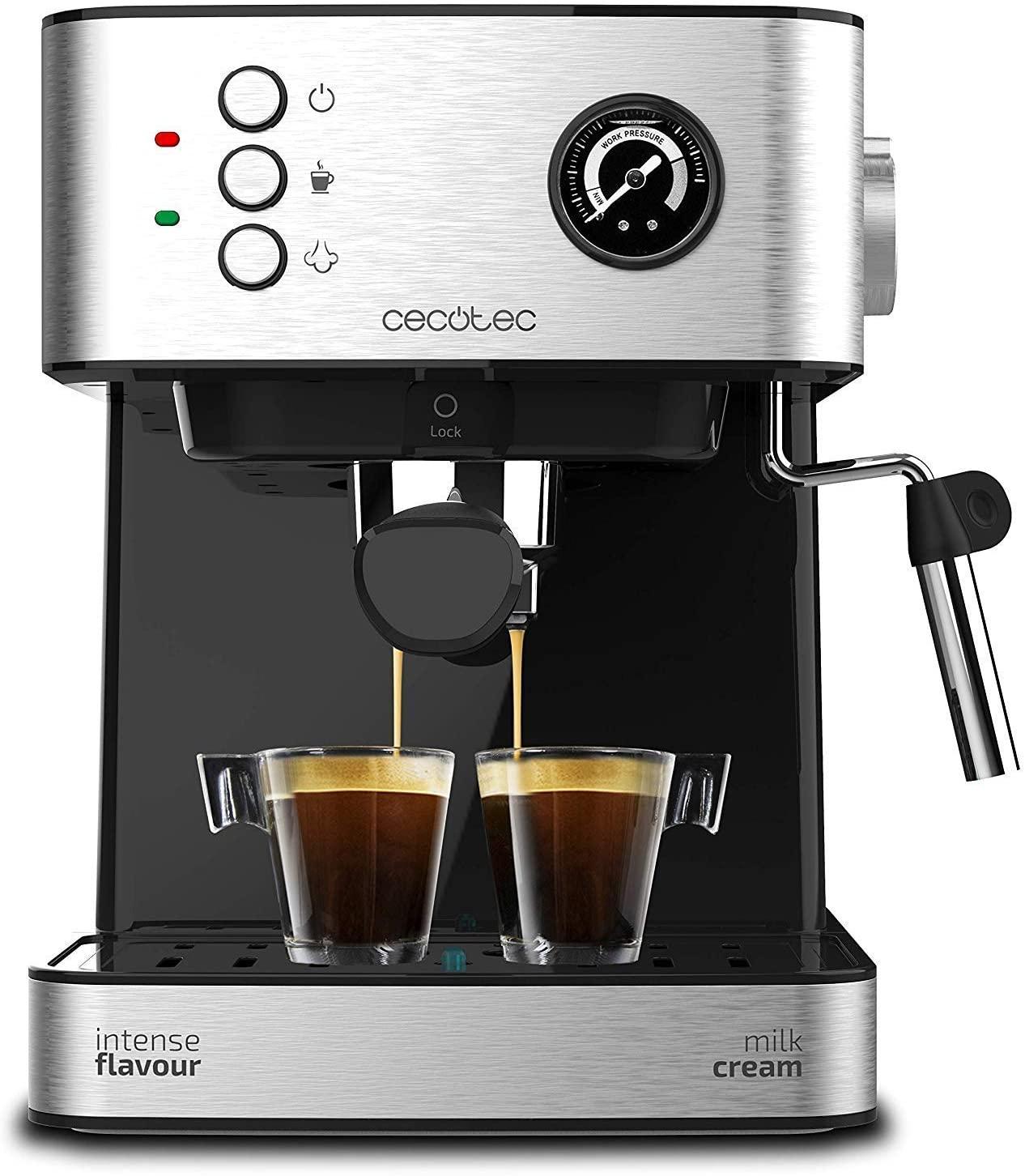 Cecotec Express Espresso 20 Koffiezetapparaat | voor Espresso en Cappuccino @Amazon.es
